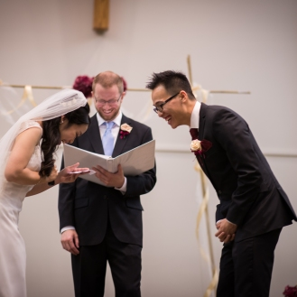 This is the part where I forgot part of my vows.