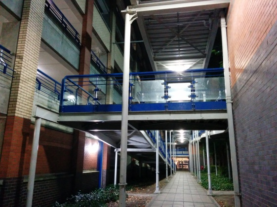 Like I said. Strange mall in-between alley thing.