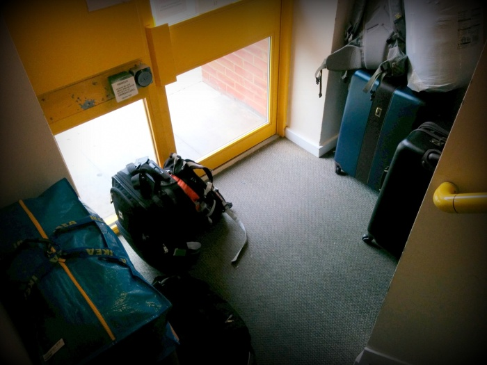 All packed up and ready to go again.