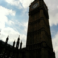 Big, big Ben. Apparently UK permanent residents can visit the inside, but that means not us =/.