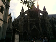 Gorgeous Westminster Abbey in the afternoon.