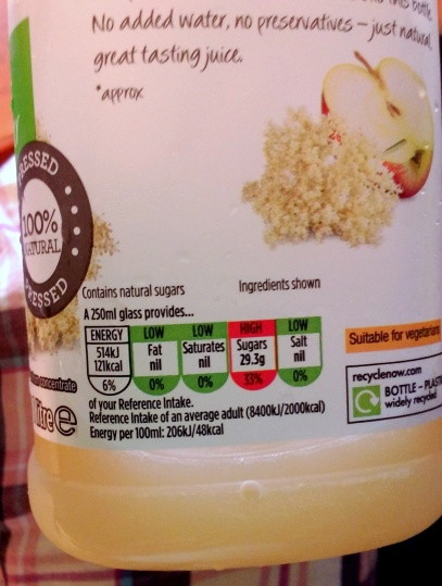 All juice!