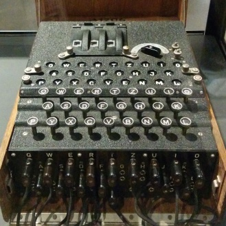 A codebreaker. 'Twas neat to note the different layout of the keyboard.