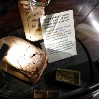 War rations for German civilians.