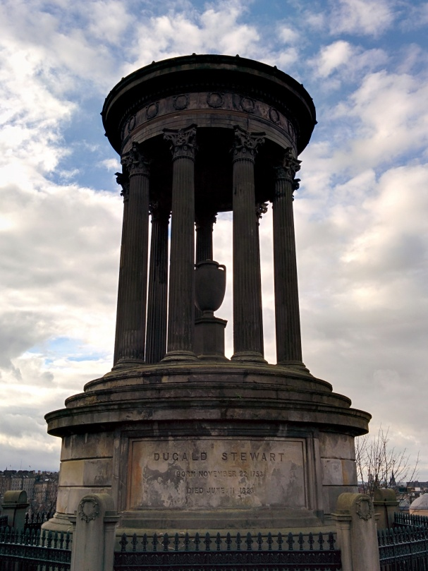 The Dugald Stewart monument was probably my favourite of the ones we saw.