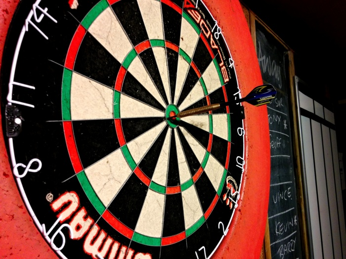 Darts at the White Horse