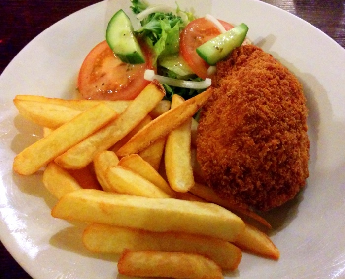 Chicken Kiev at the White Horse