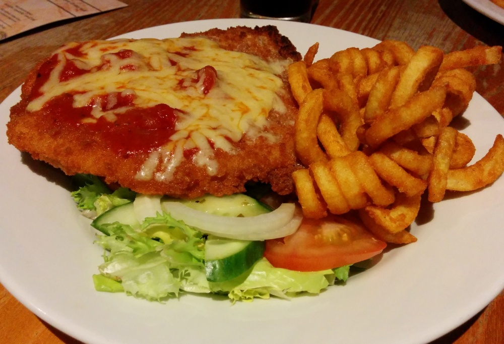 Italian Chicken at the White Horse
