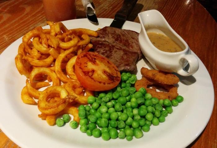 Steak at the White Horse