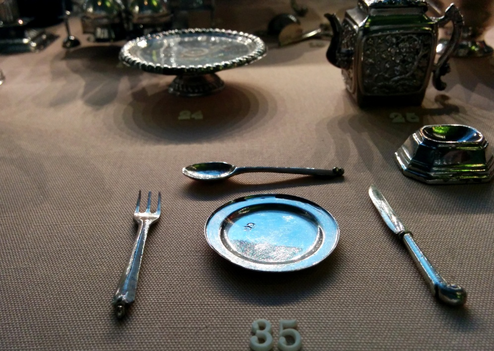 Those numbers are smaller than my thumbnail. FLATWARE FOR ANTS.