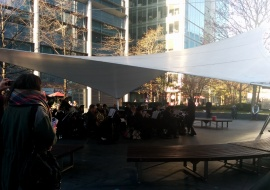outdoor orchestra old spitalfields market