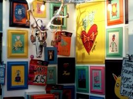 original art old spitalfields market