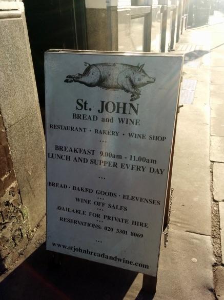 st john's placard