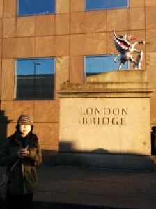 london bridge plaque