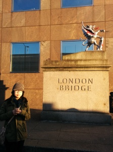 london bridge plaque