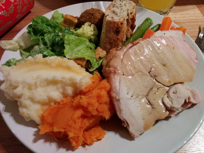 Our Canadian Christmas dinner (=