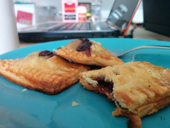 handmade berry hand pies