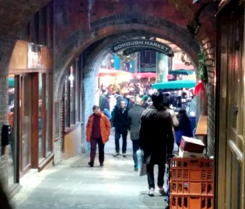 To Borough Market!