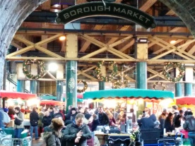 Thank you for feeding us so well again, Borough Market (=