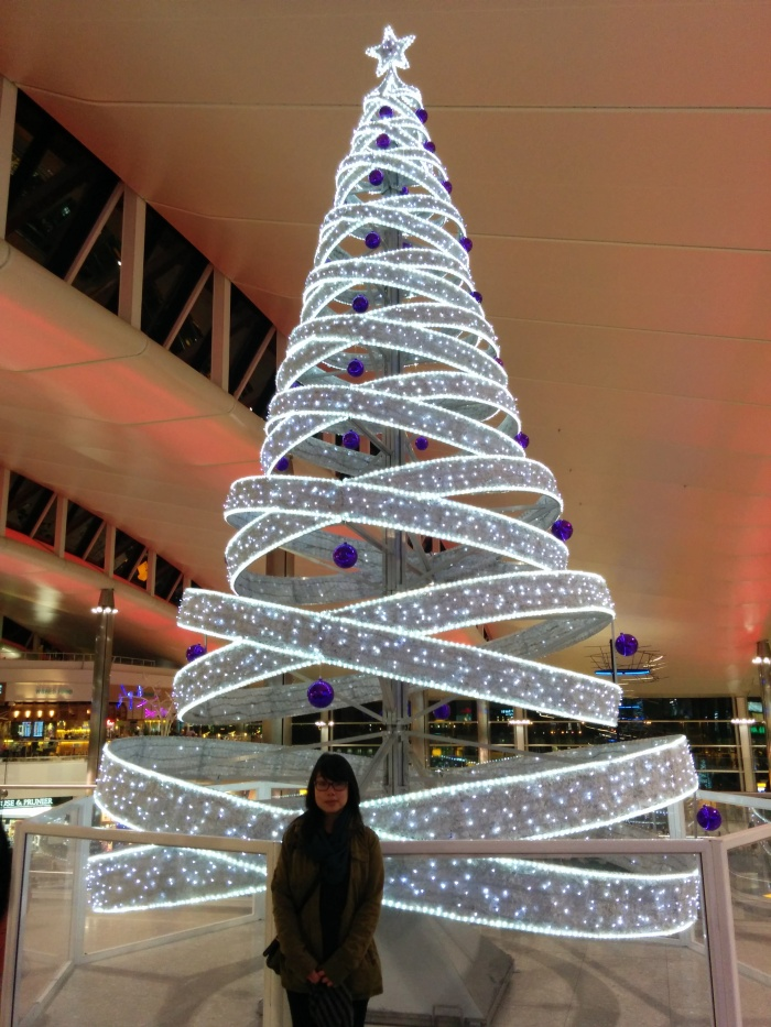 christmas tree london airport