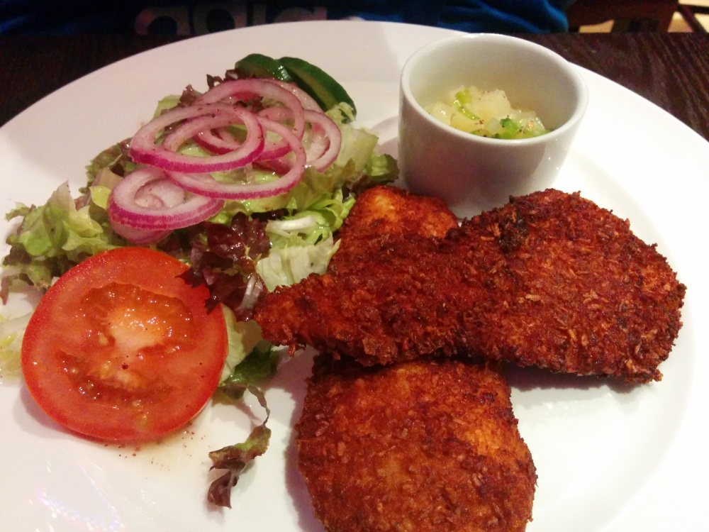 Lebanese Coconut Chicken at Cafe Oasis