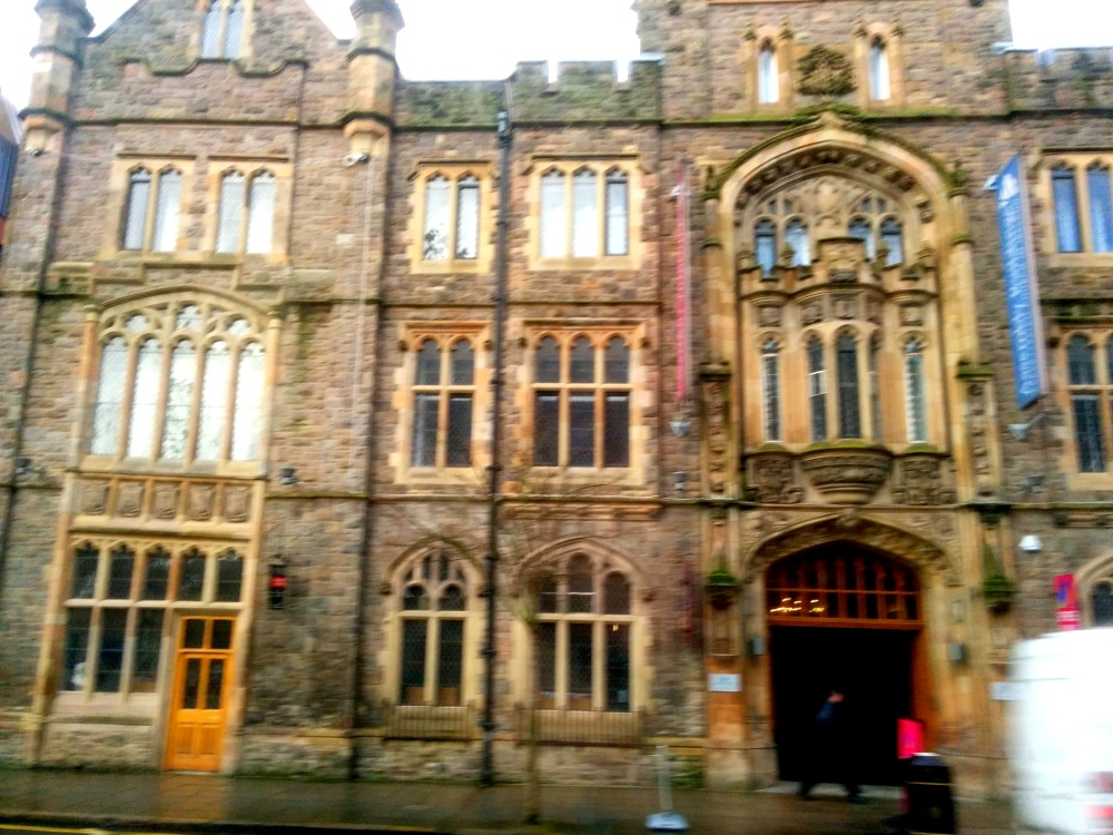 A building in Belfast.
