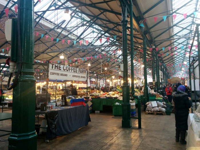 St. George's Market on the inside!