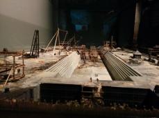 mini model titanic in the making belfast