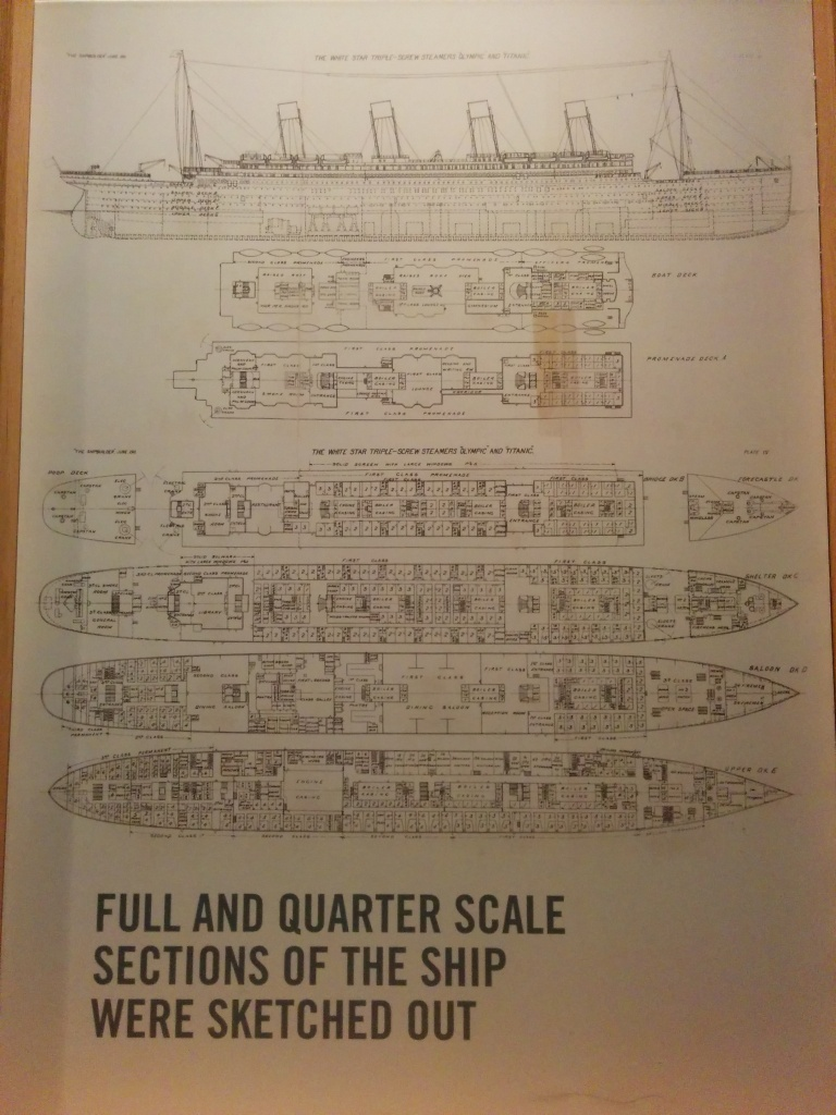 Blueprints for the Titanic.