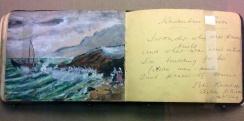 Watercolours of a Prisoner in Gaol.