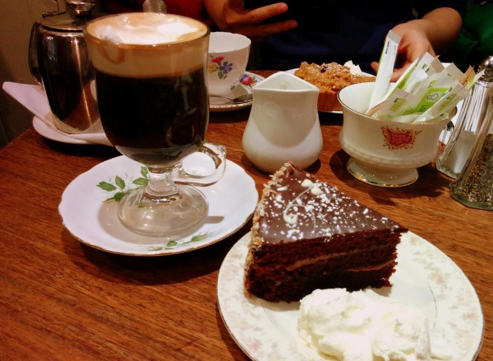 irish coffee chocolate cake queen of tarts dublin ireland