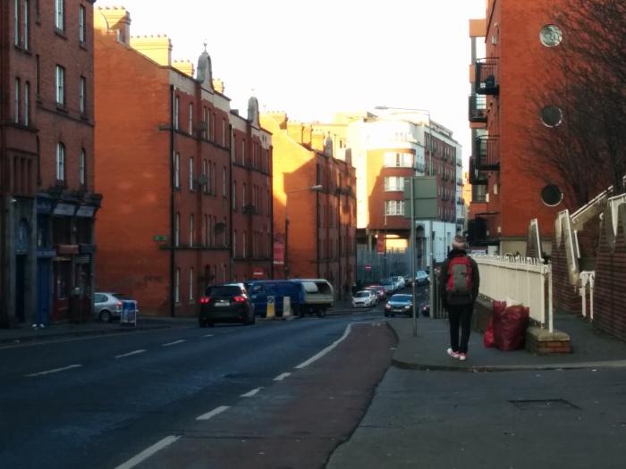 empty streets dublin ireland