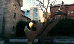 modern art dublin castle garden
