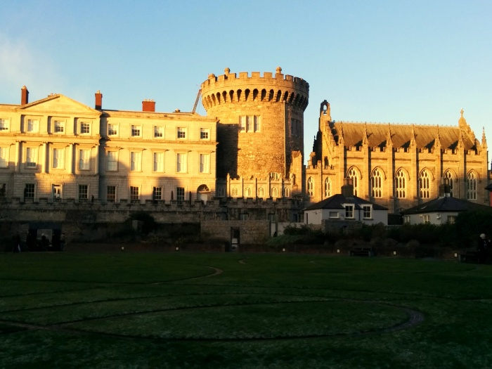 dublin castle from back
