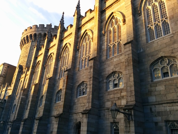 dublin castle walls