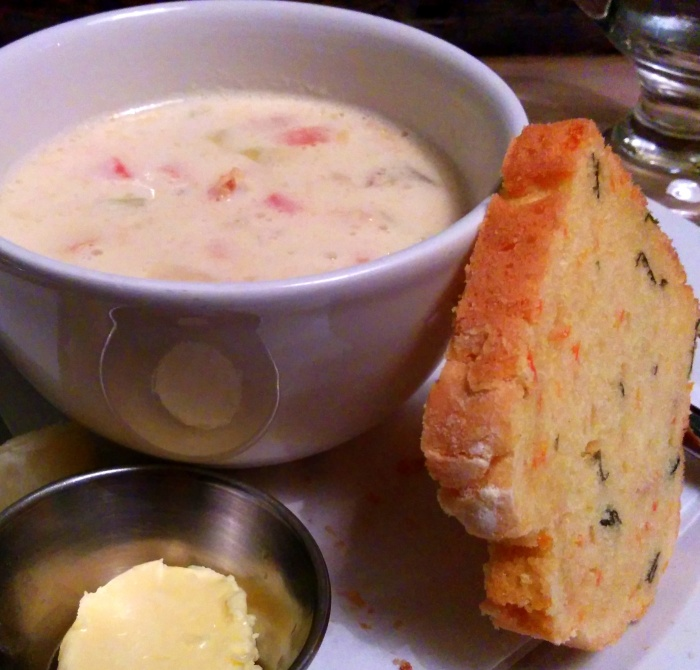 gallagher's boxty house atlantic chowder