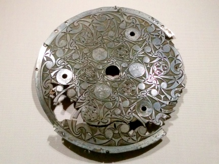 Metalwork dating from Viking Ireland in 11th and 12th century; look at the intricacy of those engravings!