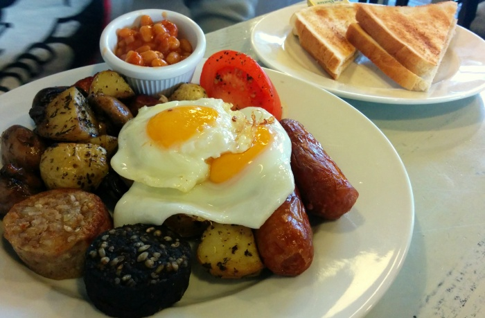 full Irish breakfast third space dublin ireland