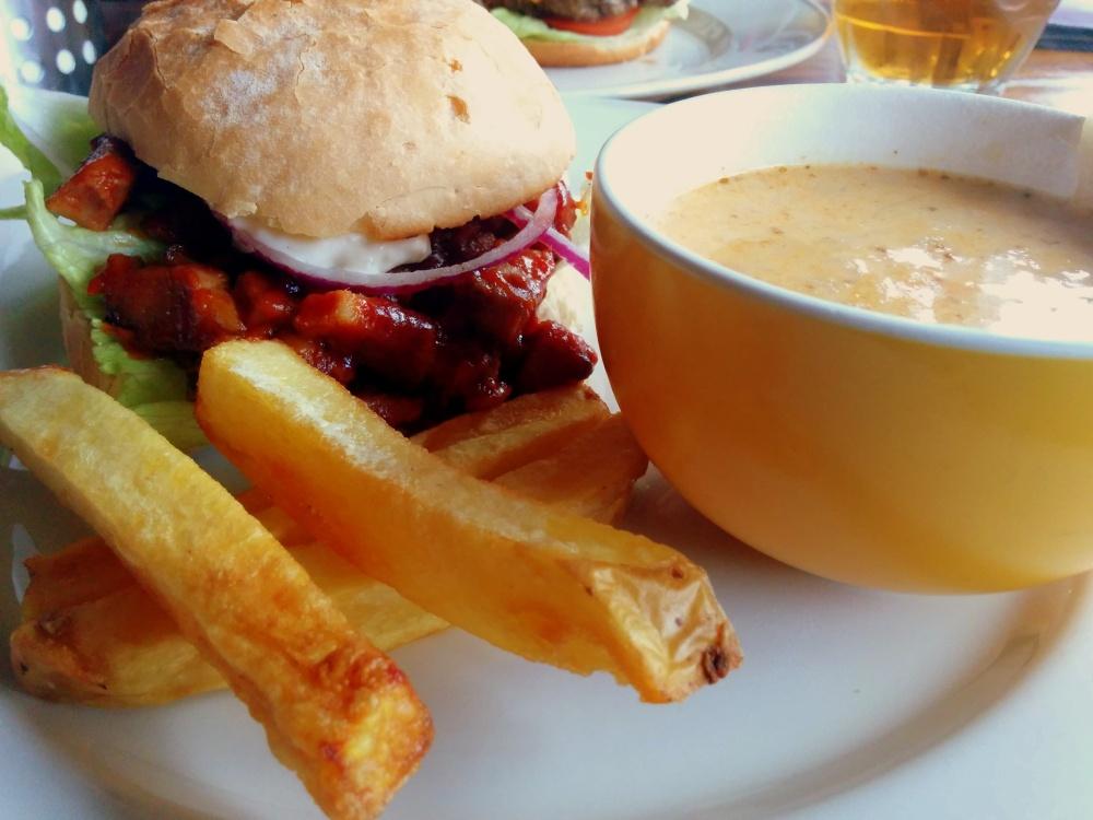 roast pork neck sandwich cabbage soup pifko dublin ireland