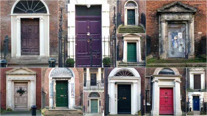 The doors of Henrietta Street.