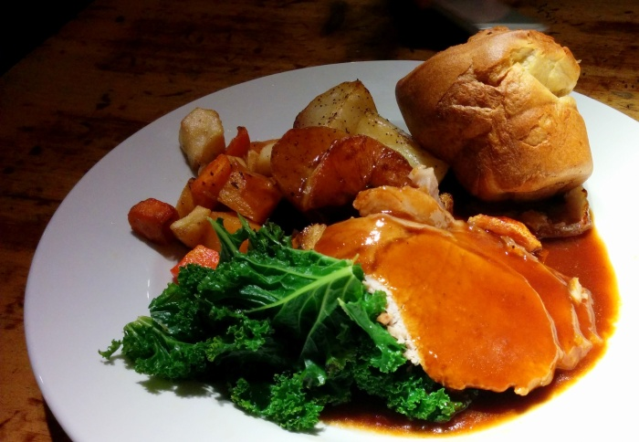 sunday roast southwark tavern