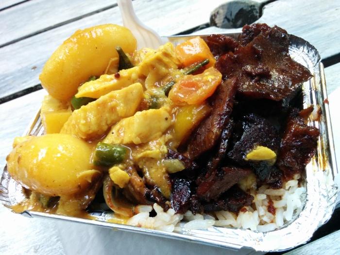 sri lankan mix plate boiler house food hall
