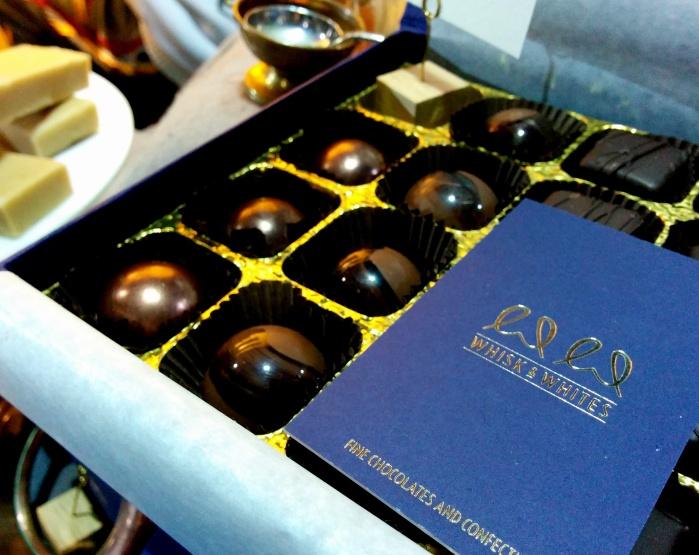 whisk & whites marbled truffles camden town london