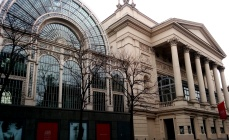 The Floral Hall beside the Royal Opera House