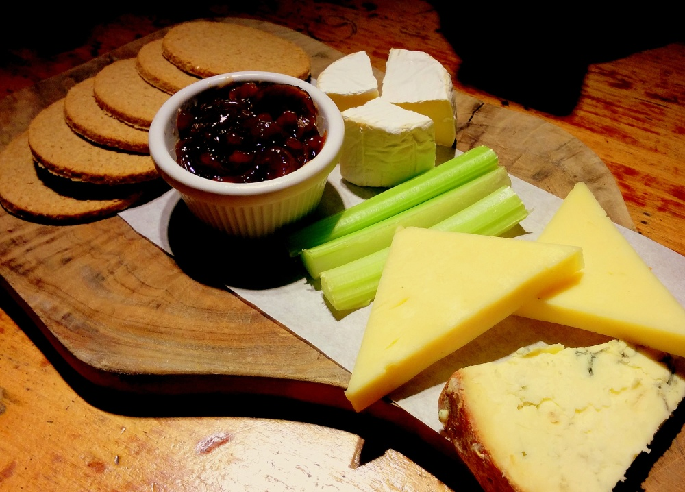 southwark tavern cheese board