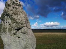 stonehenge station stone england