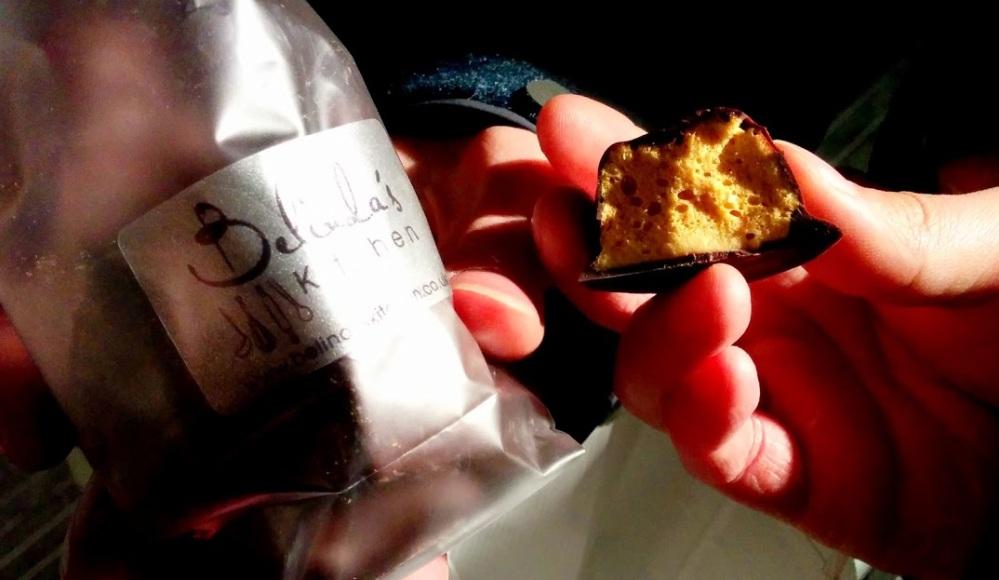 south bank food market london england belindas kitchen sponge toffee chocolate