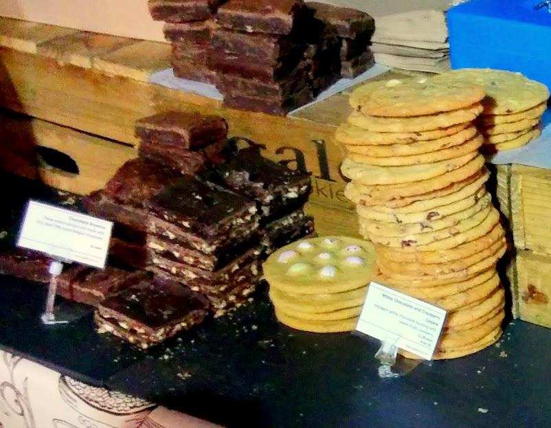 south bank food market london england cookies galetta
