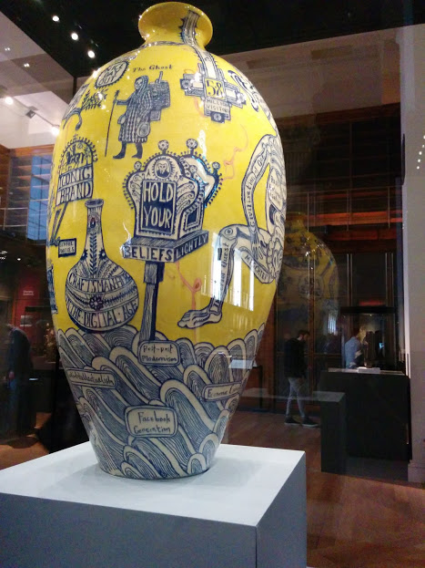 british museum england london contemporary art facebook vase