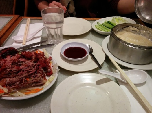 chinese food peking duck london england